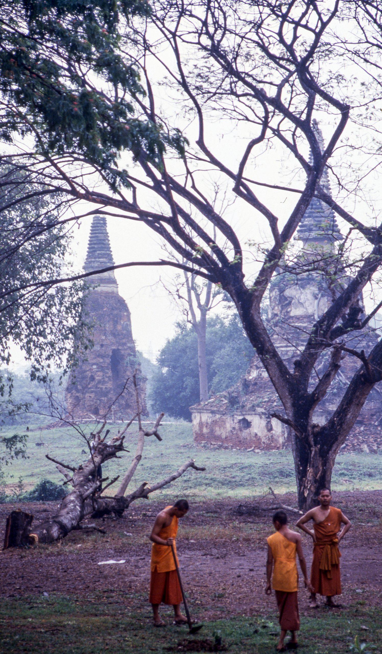 Buddhists, Thailand, Asia