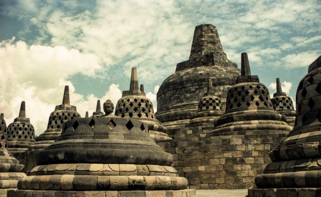 Borobudur, Yogyakarta , Java, Indonesia, Asia