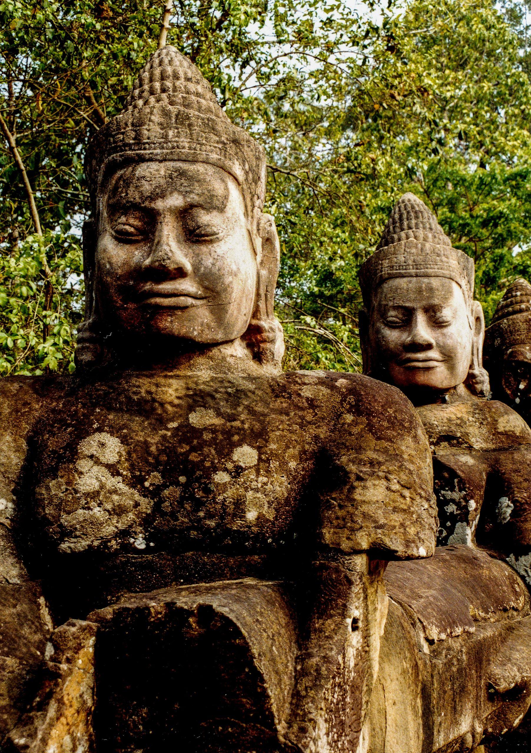 Angkor Thom, Siem Reap, Cambodia, Asia