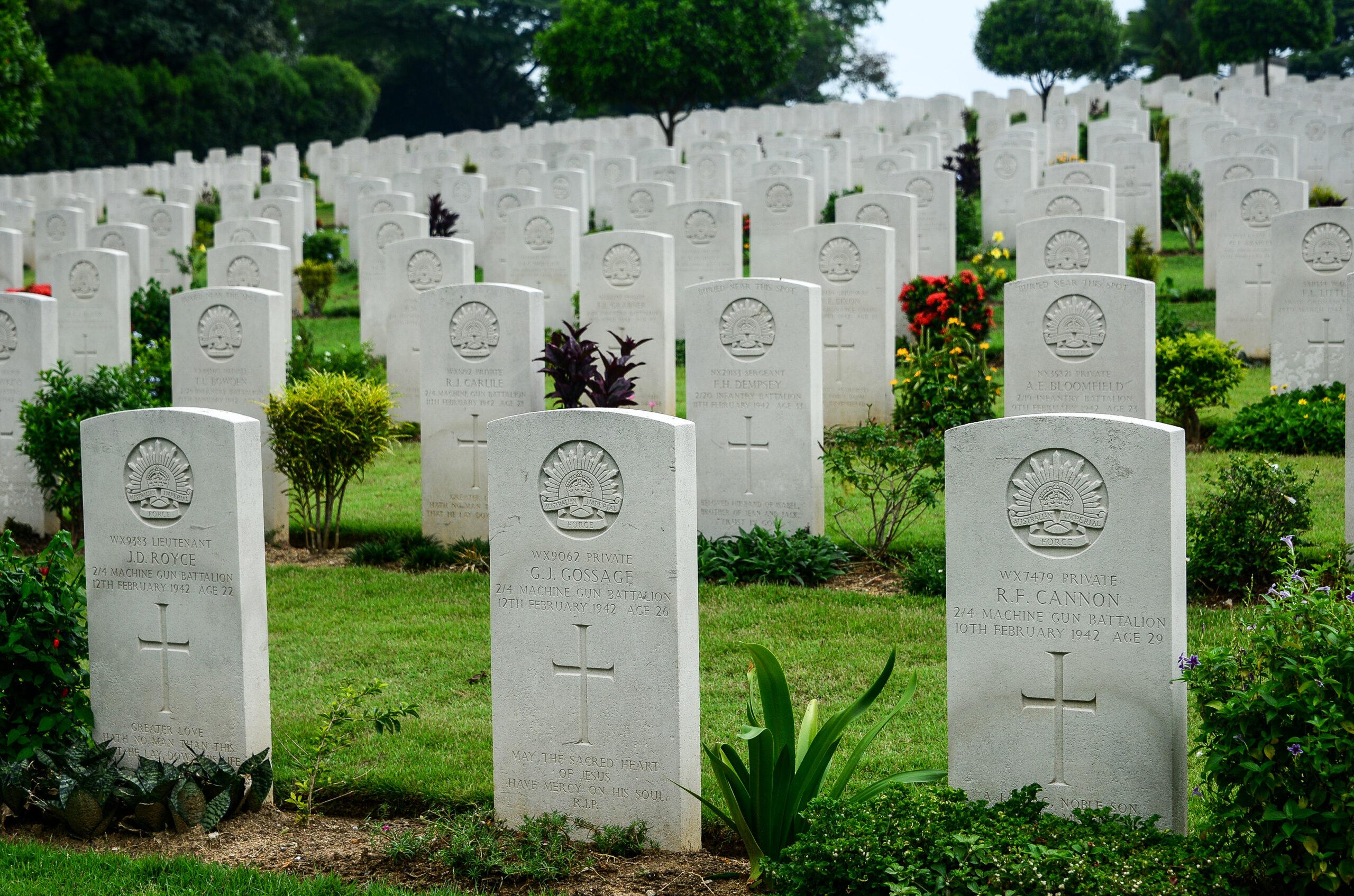 Kranji War Memorial, Singapore, Asia