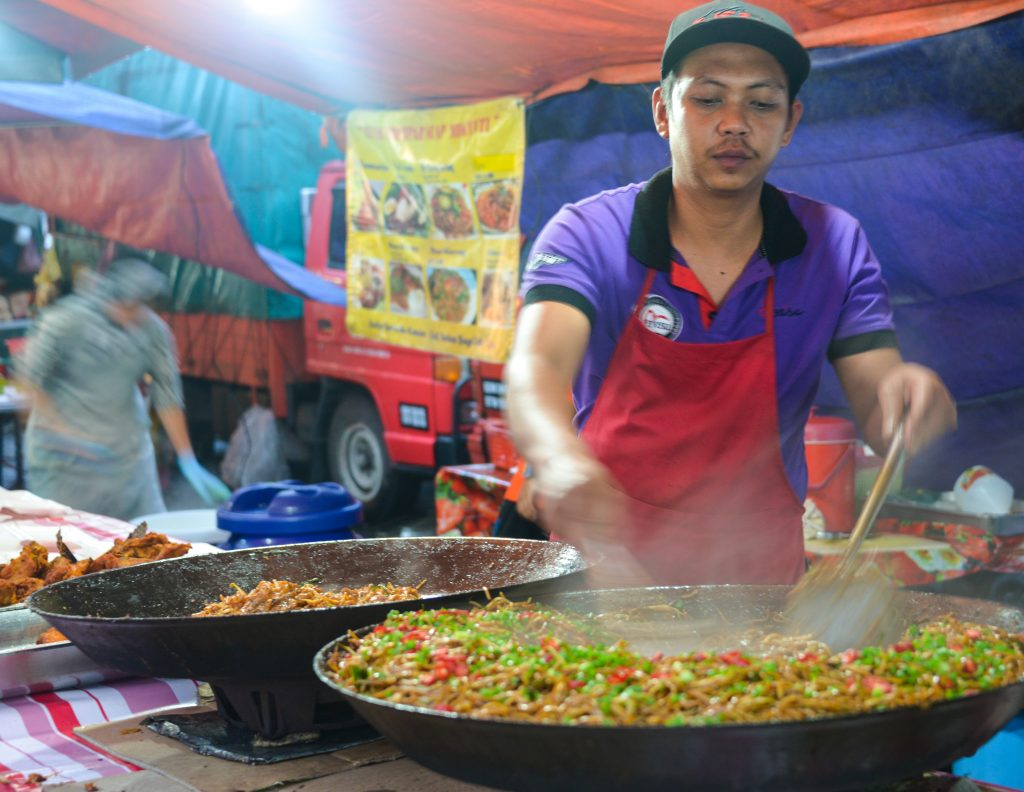 Night Markets, Brinchang, Malaysia, Asia