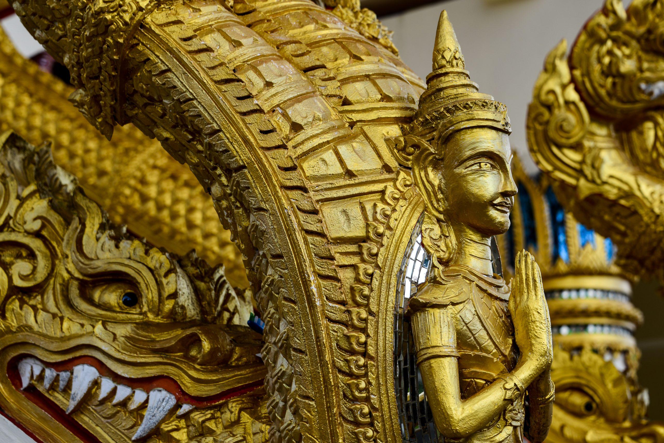Wat Lak Kaen, Khao Lak, Thailand, Asia
