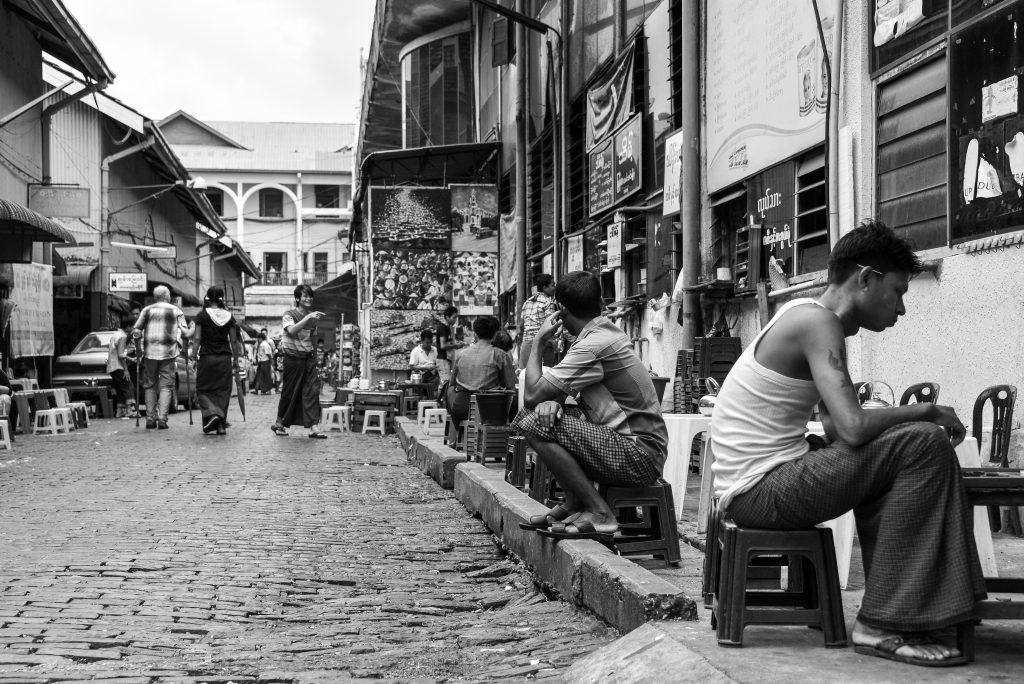 Bogyoke Market, Yangon, Myanmar, Burma, Asia