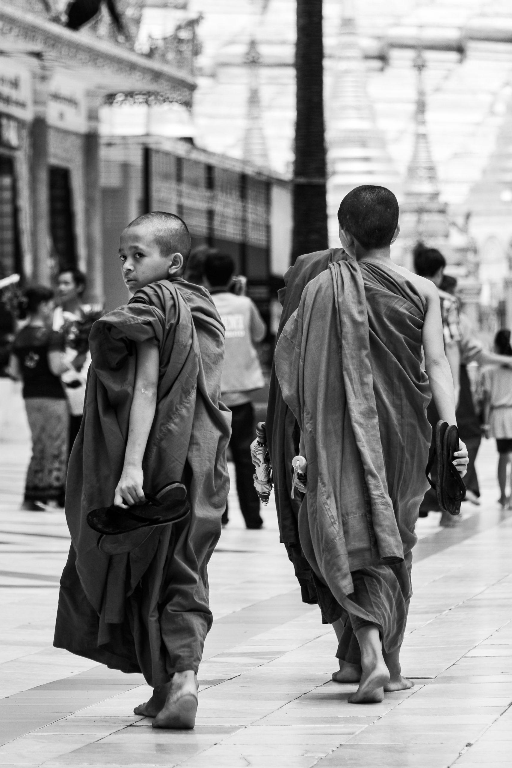 Shwedagon Pagoda, Yangon, Myanmar, Burma, Asia