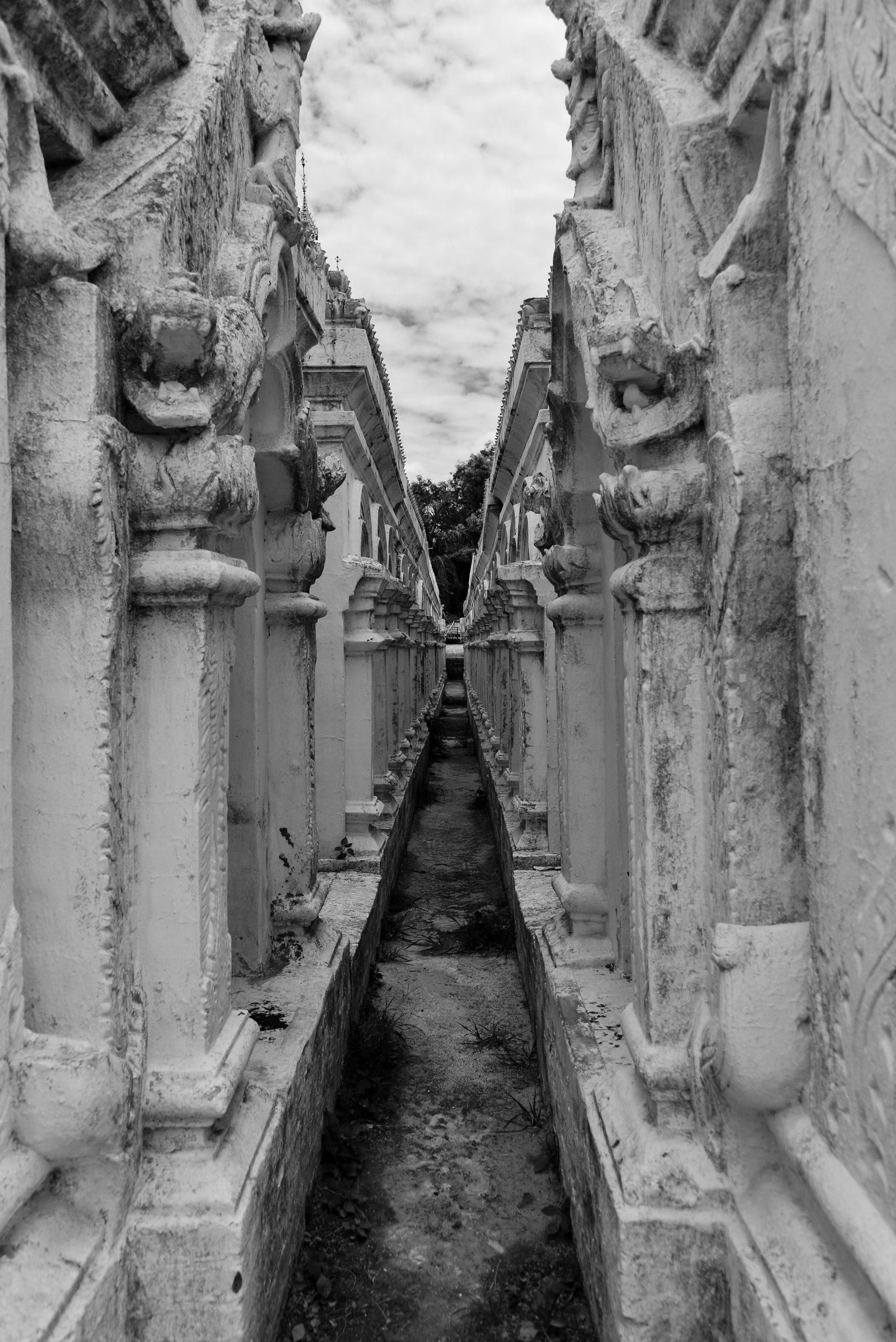Kuthodaw Pagoda, Mandalay, Myanmar, Burma, Asia
