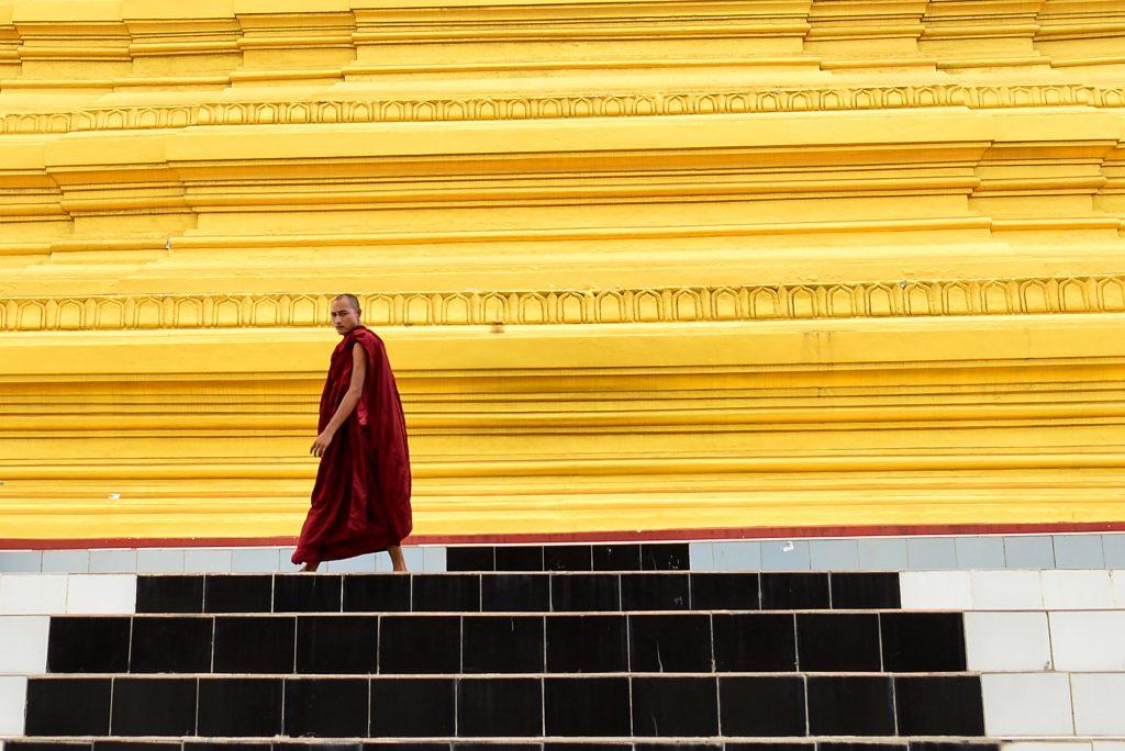 Sandamuni Temple, Mandalay, Myanmar, Burma, Asia