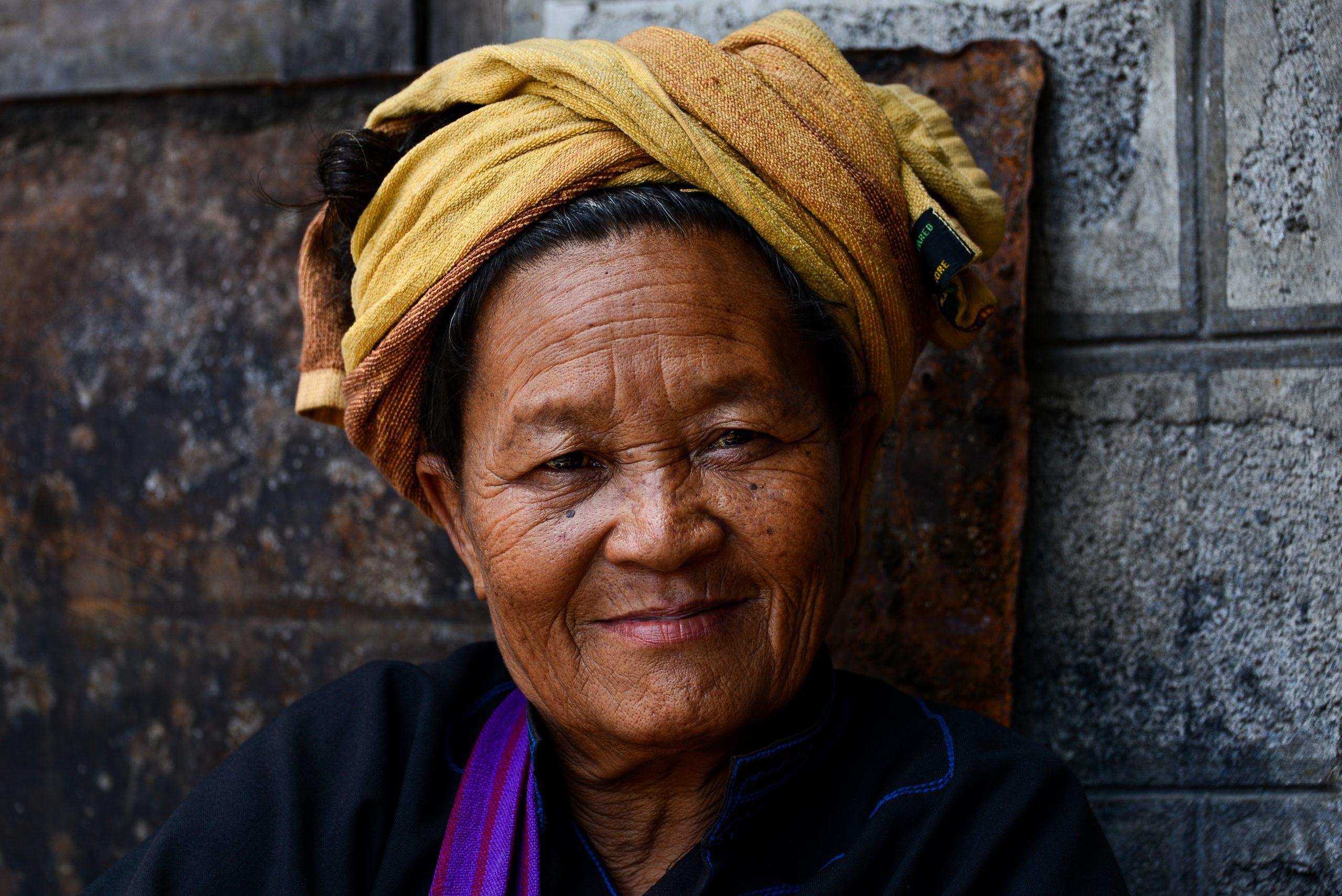 Minglar Market, Inle Lake, Myanmar, Burma, Asia