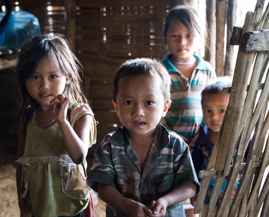 Lahu Village, Luang Namtha, Laos, Asia