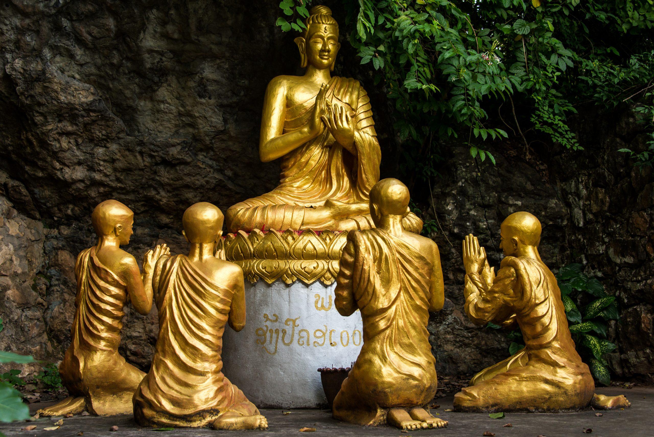 Mount Phou Si, Luang Prabang, Laos, Asia