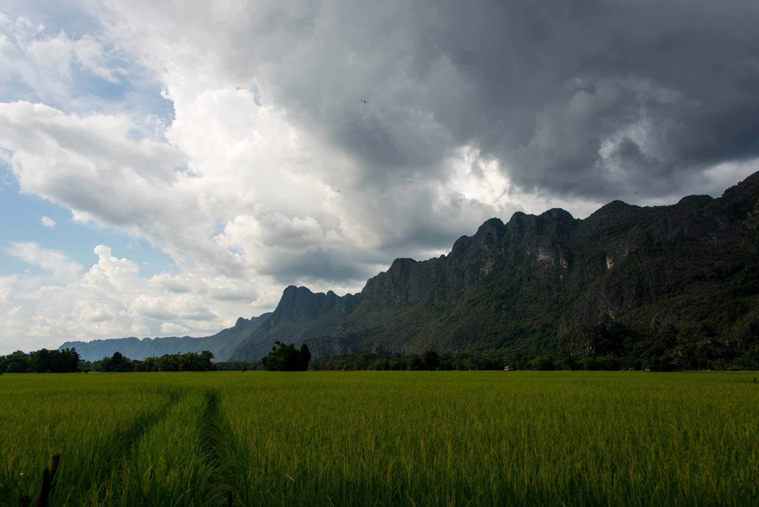 Konglor Village, Laos, Asia