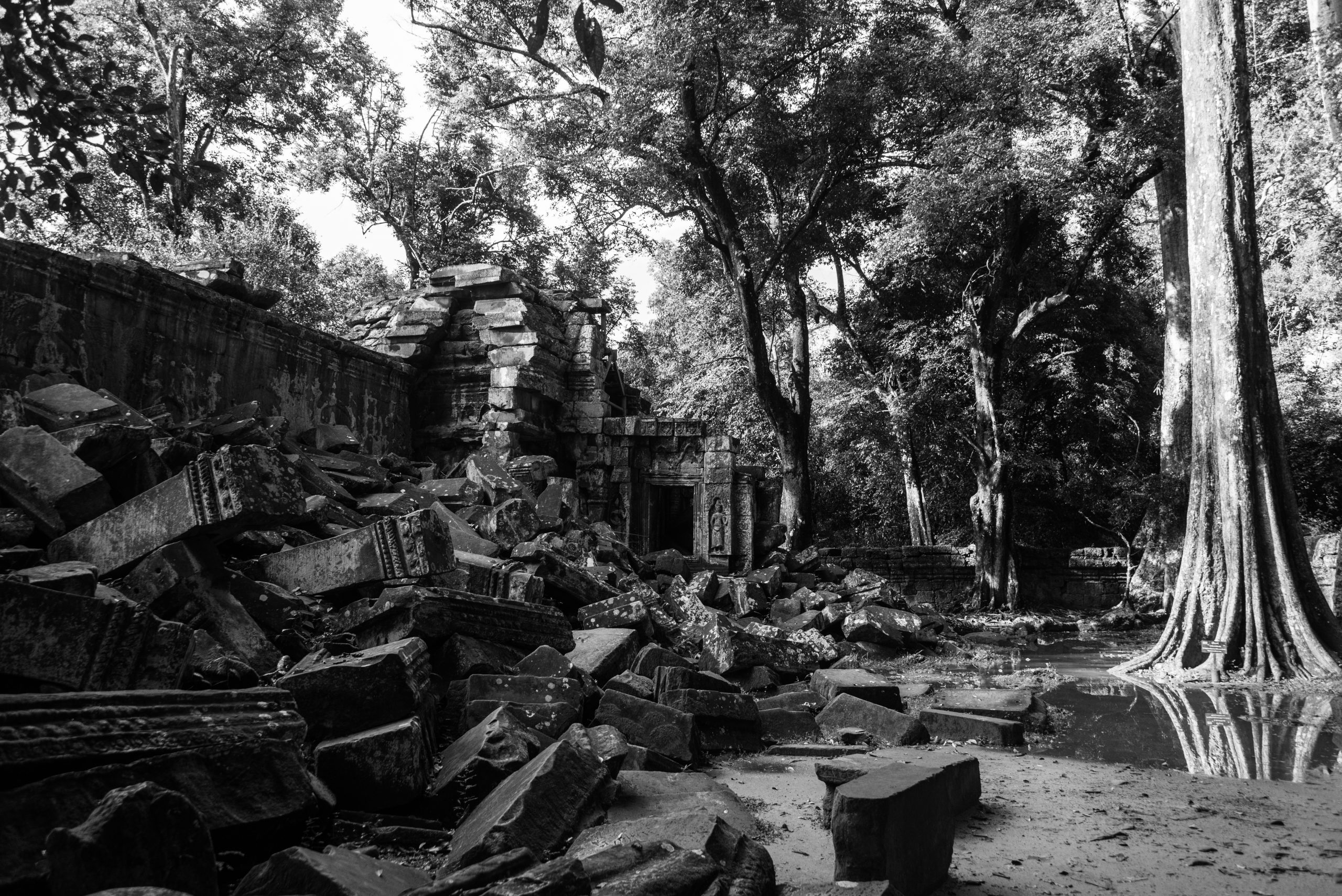 Preah Khan, Siem Reap, Cambodia, Asia