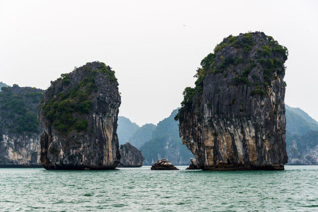 Karsts, Halong Bay, Vietnam, Asia