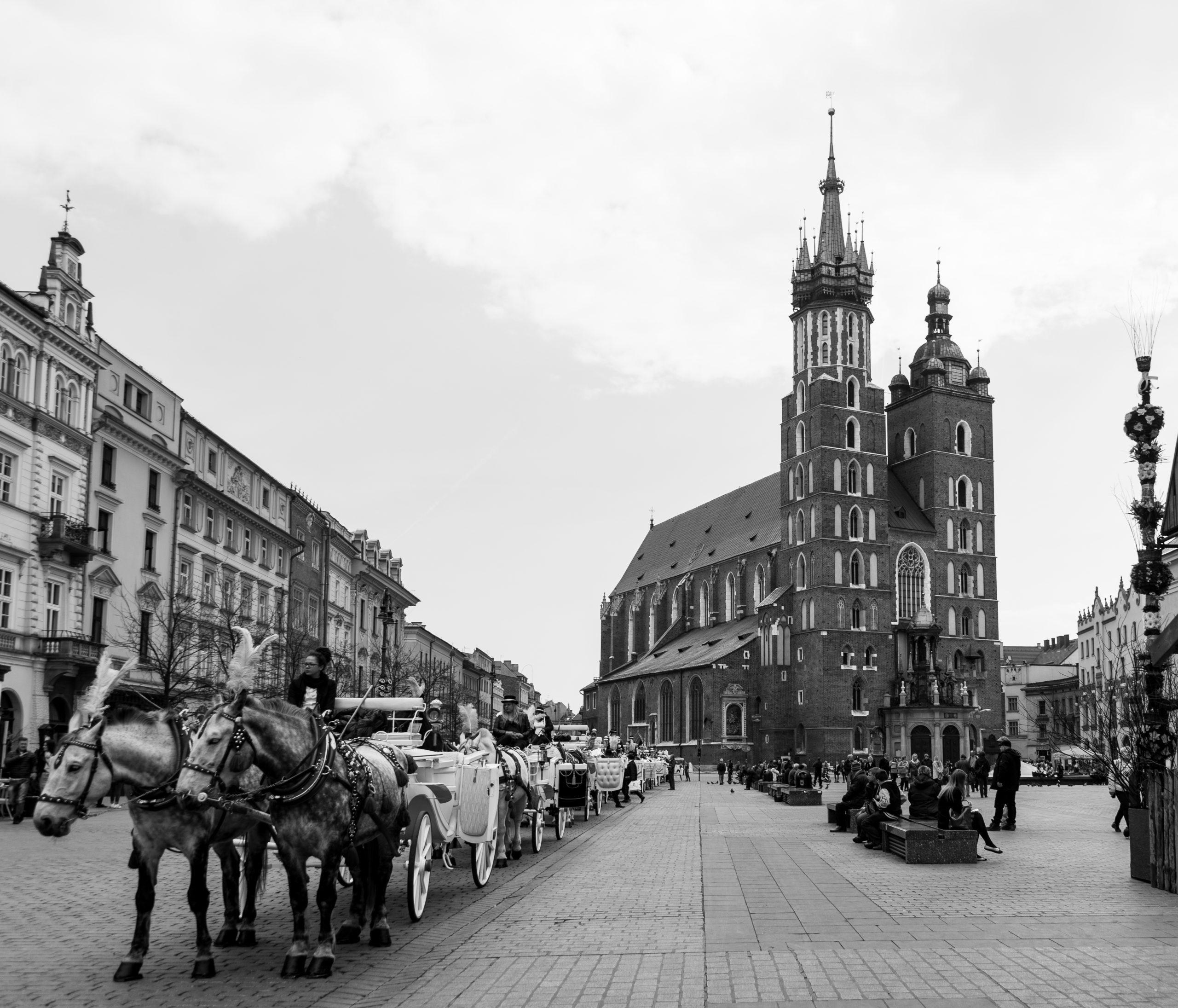 Old Town, Kraków, Poland, Europe