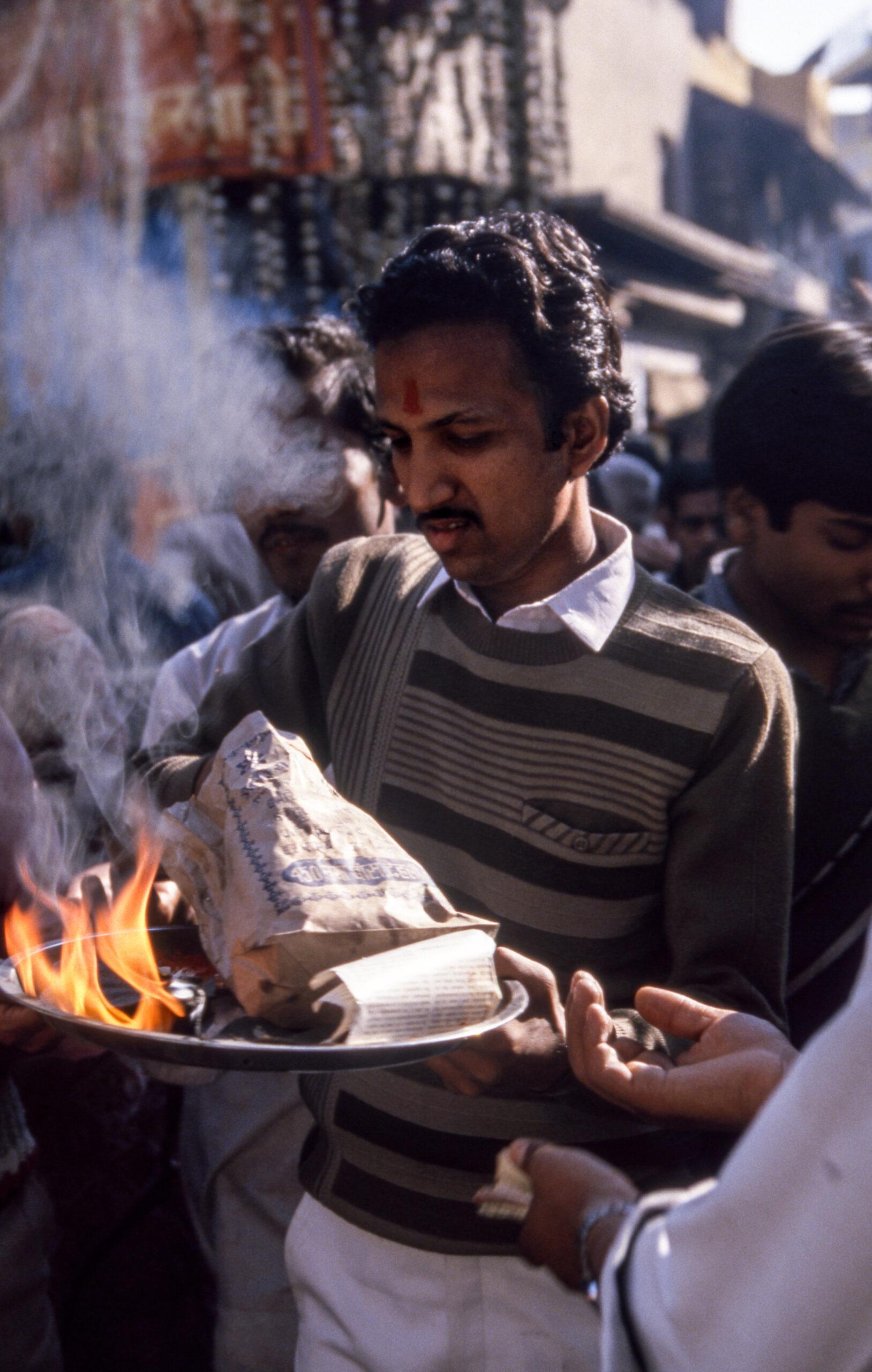 Rituals, Old Delhi, India, Asia