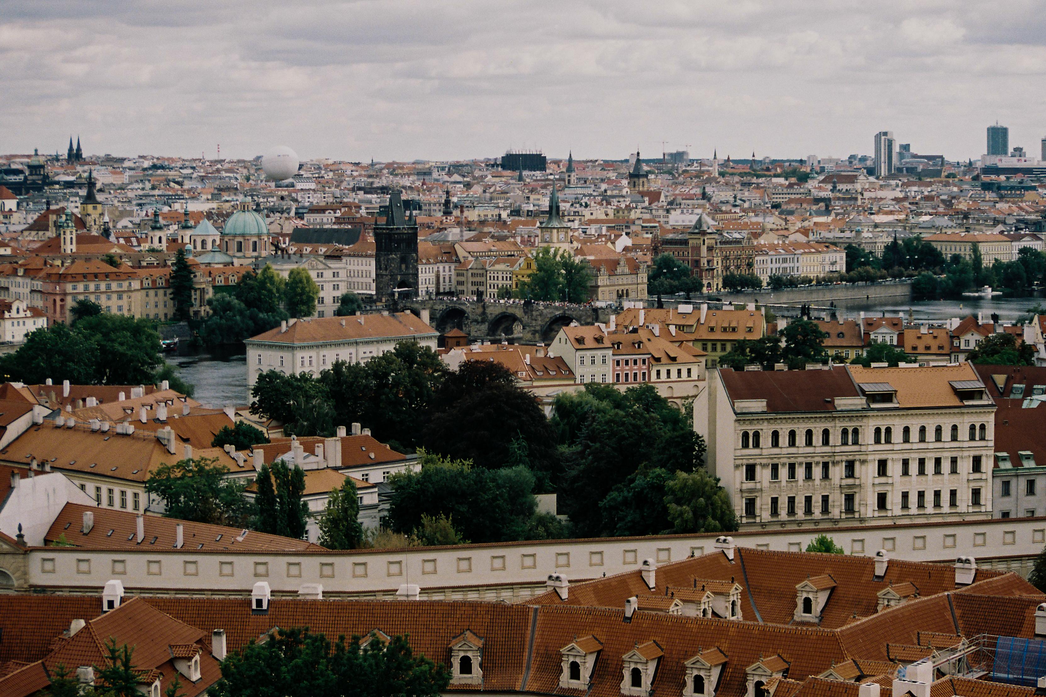 City, Prague, Europe