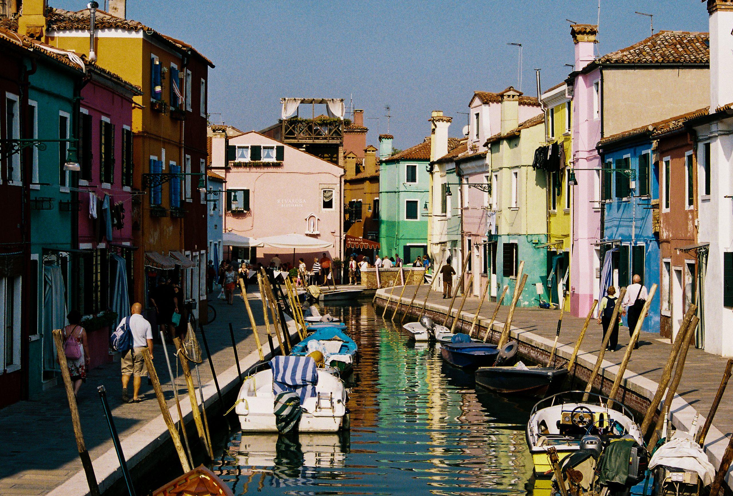 Burano, Venice, Italy, Europe