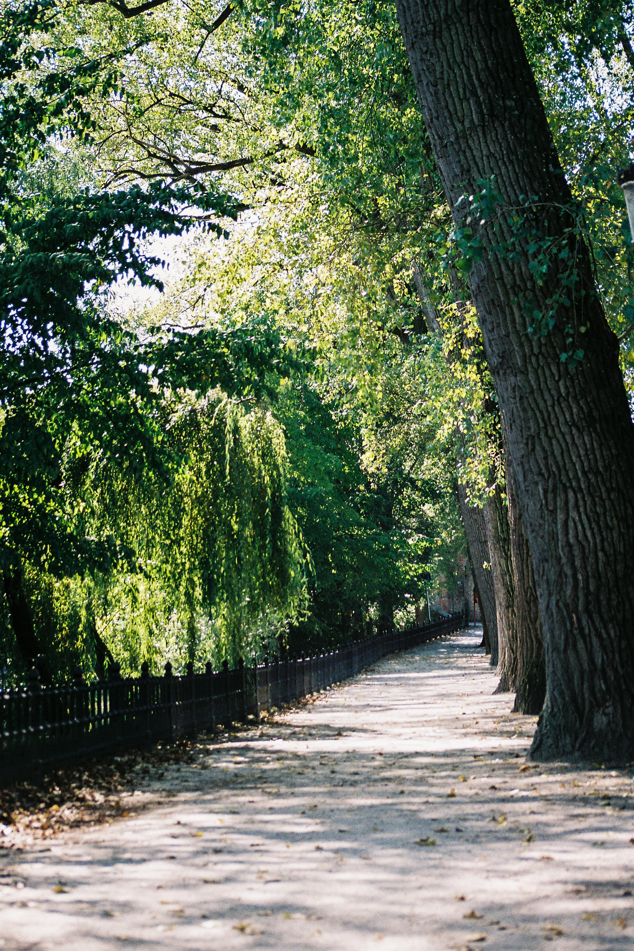 Park Lane, Brugge, Belgium, Europe