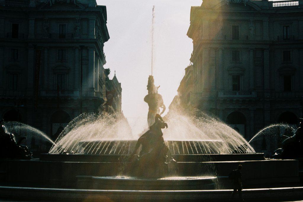 Piazza della Repubblica, Rome, Italy, Europe
