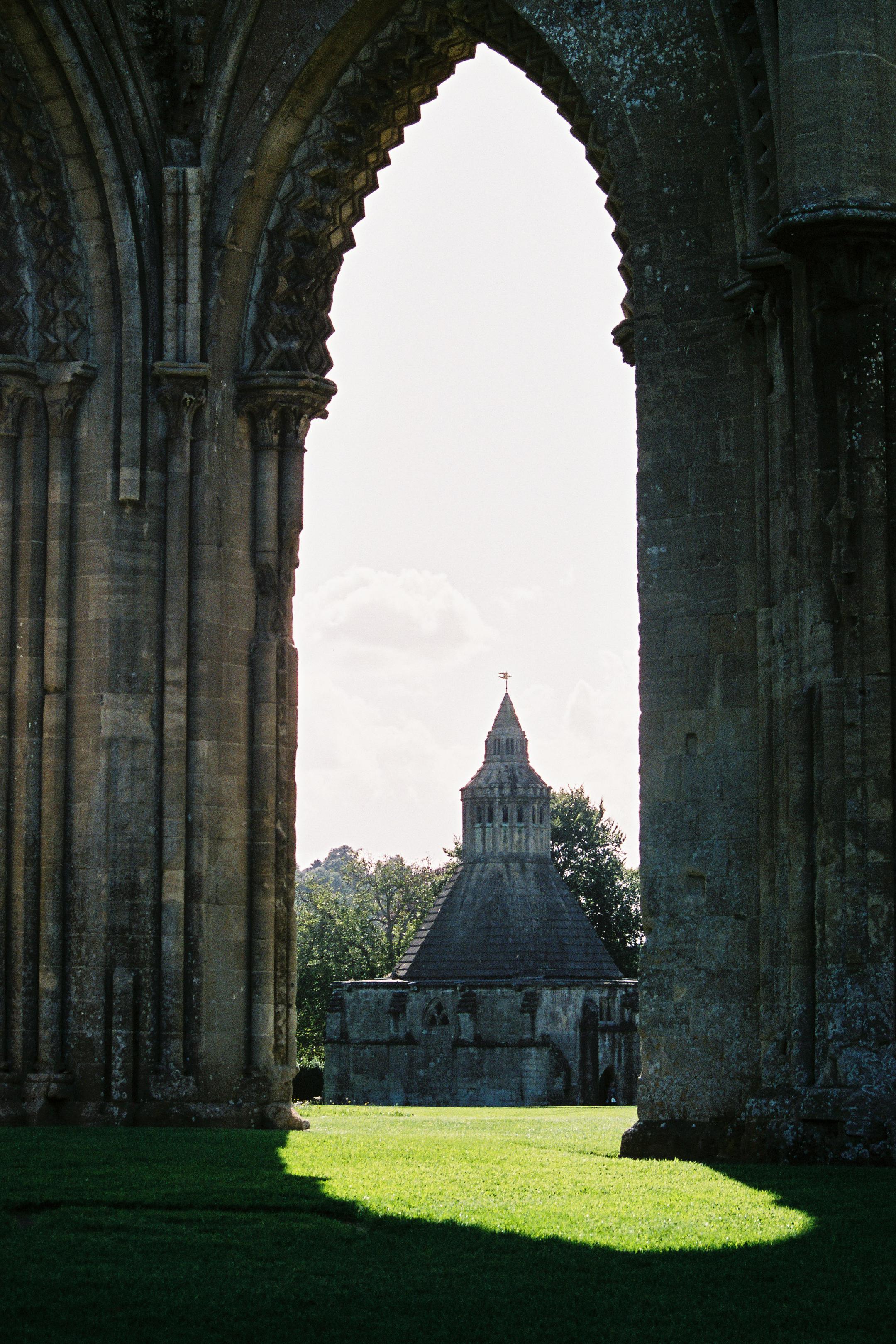 Glastonbury Abbey, Glastonbury, Somerset, England, United Kingdom