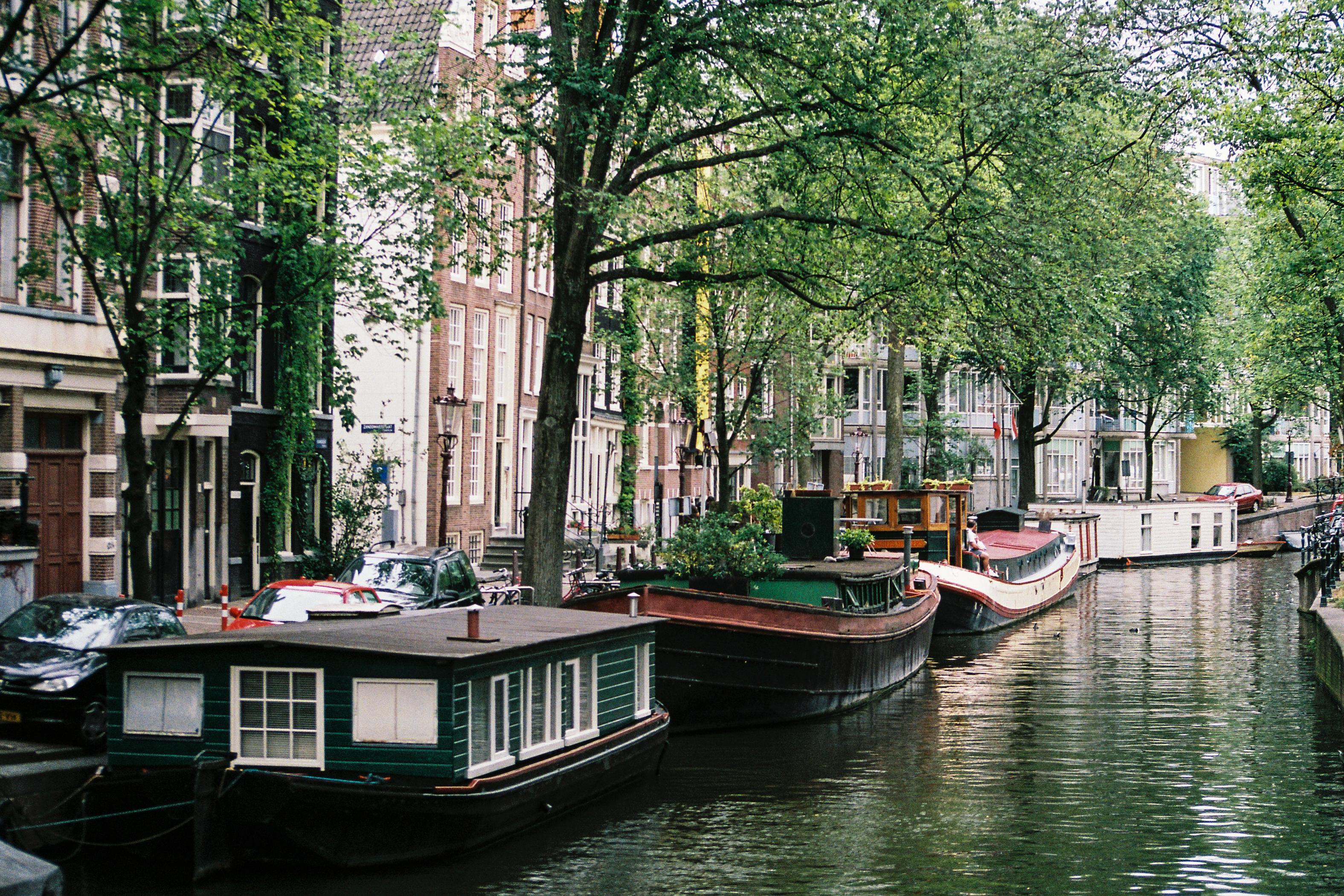 Mooring, Amsterdam, Netherlands, Europe