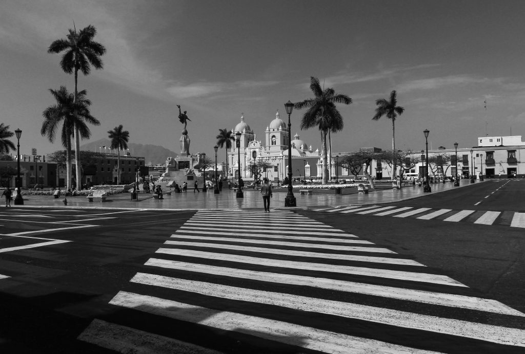Plaza Mayor, Trujillo, Peru, South America