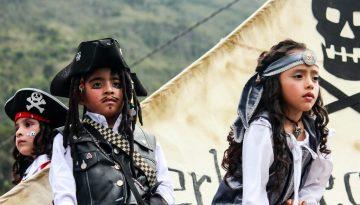 Pirates, Baños, Ecuador, South America