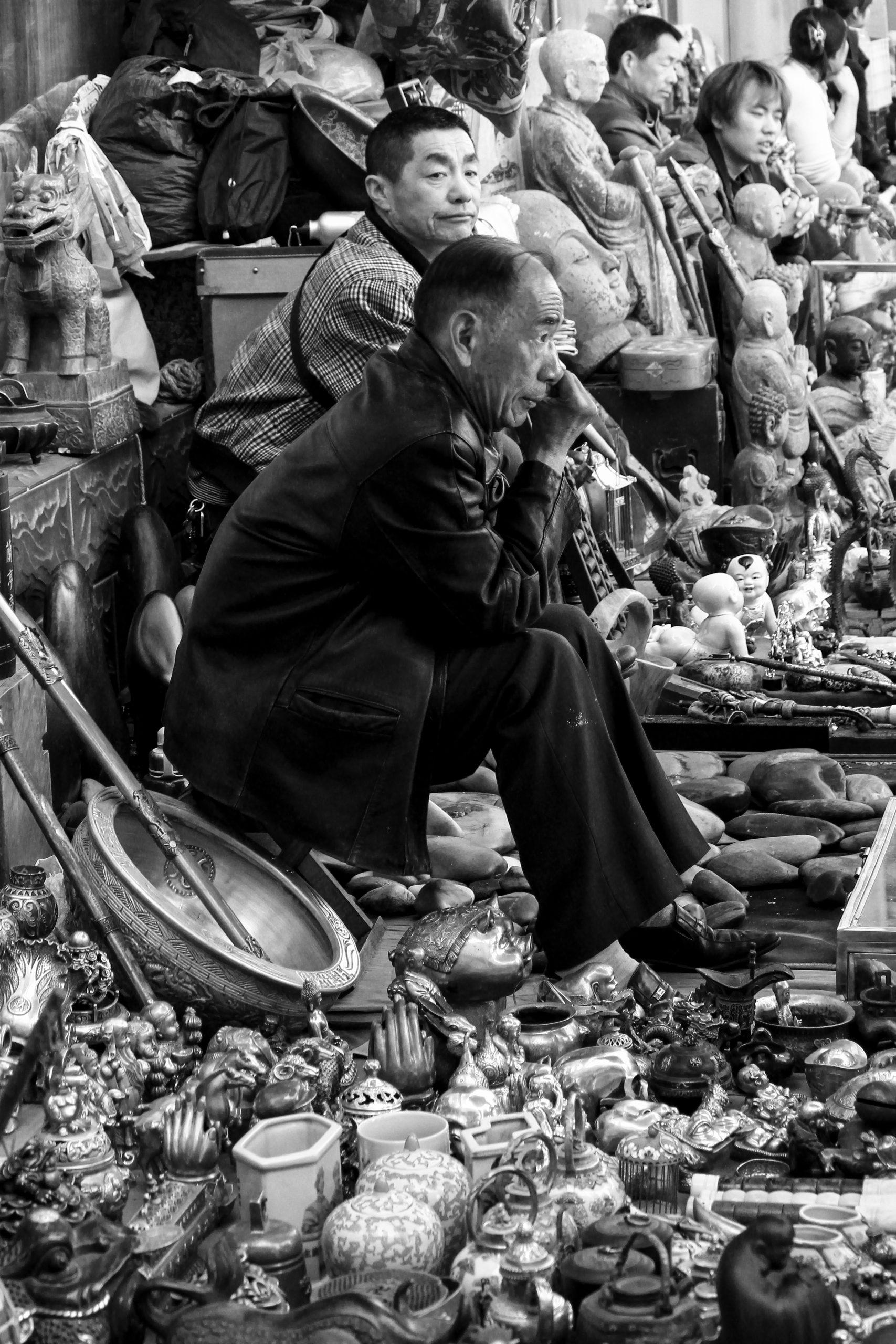 Panjiayuan Market, Beijing, China, Asia