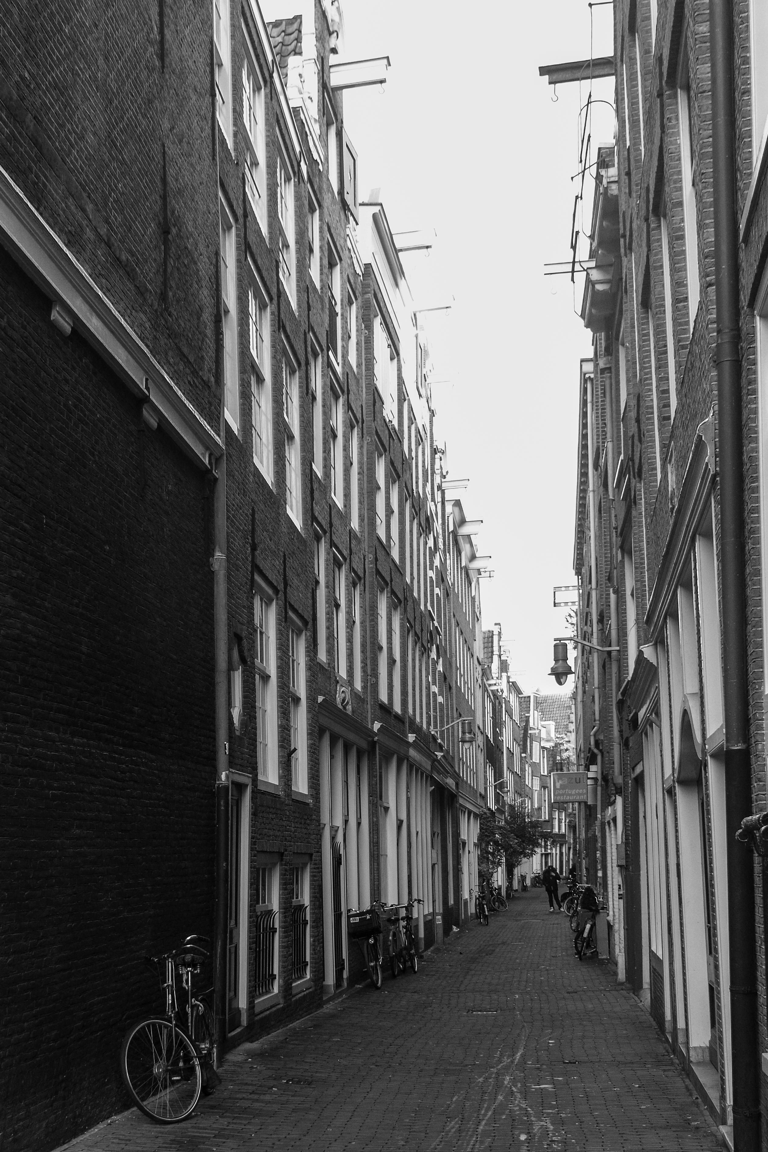 Alley, Amsterdam, Netherlands, Europe