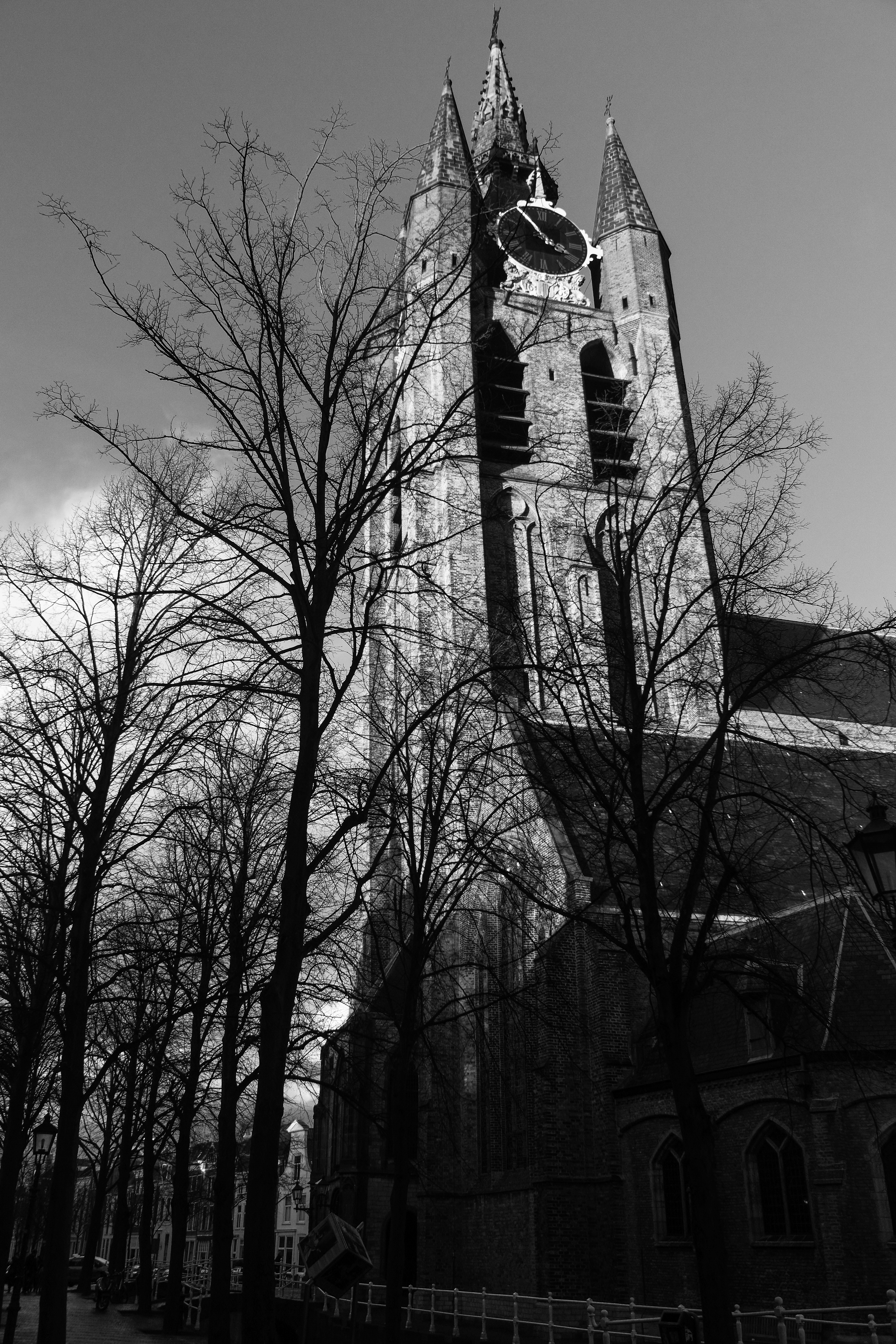 The Leaning Church, Delft, Netherlands