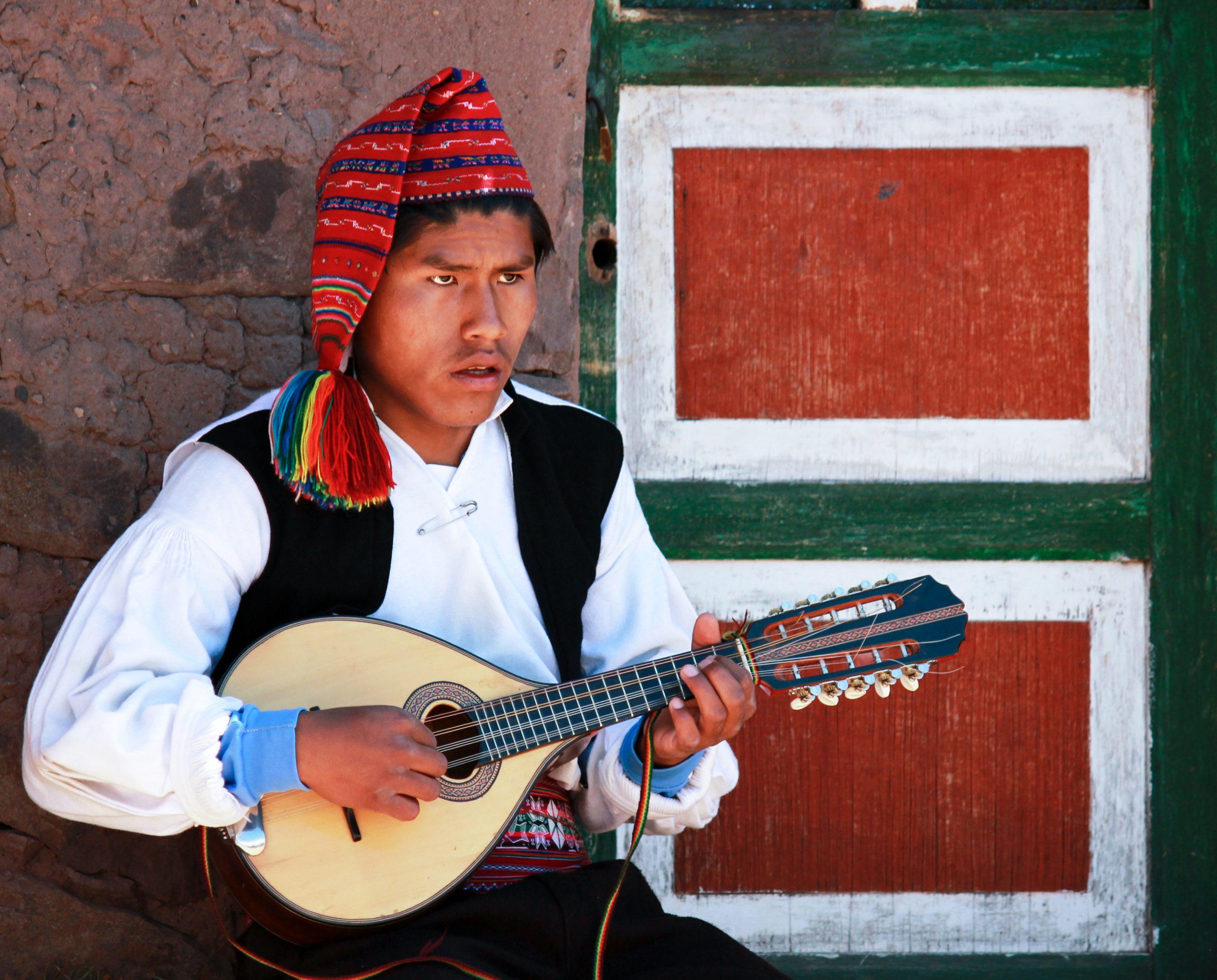 Taquile Island, Lake Titicaca, Peru, South America