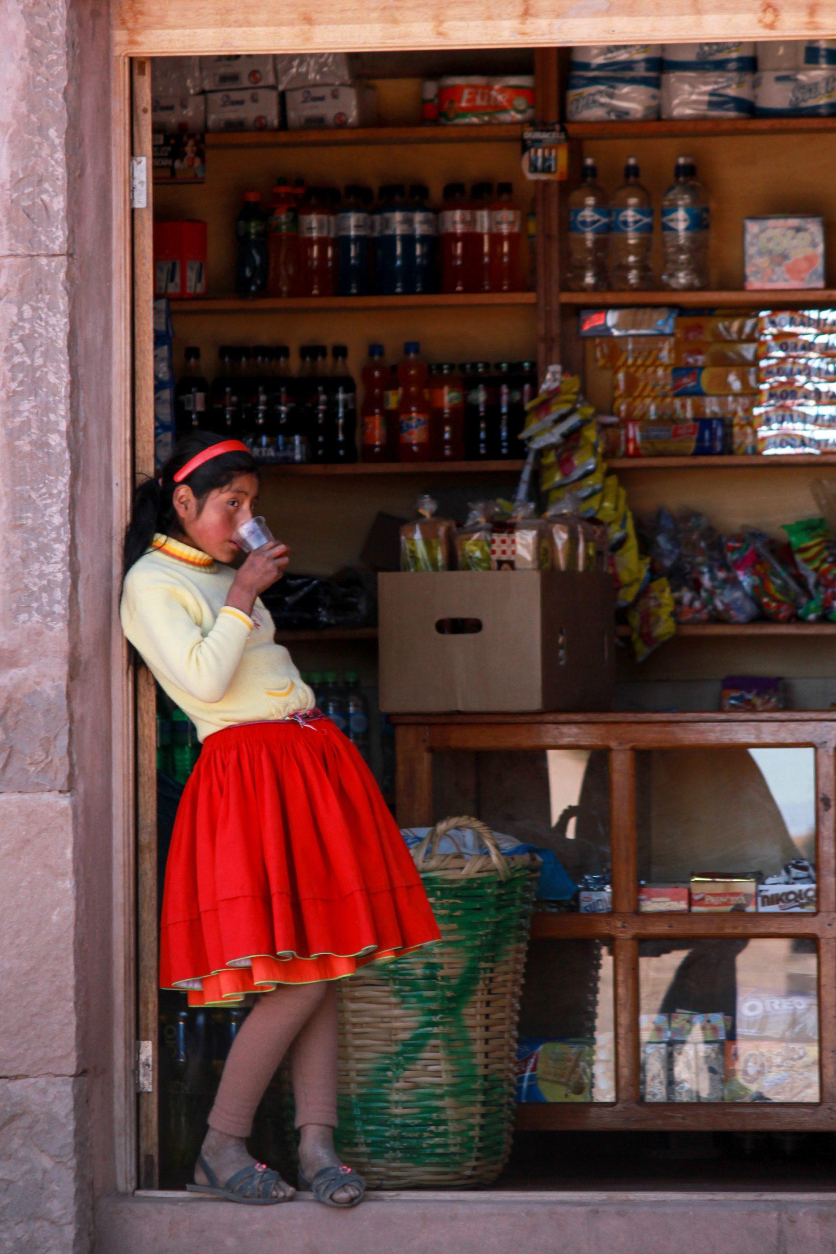 Lake Titicaca, Taquile Island, Peru, South America