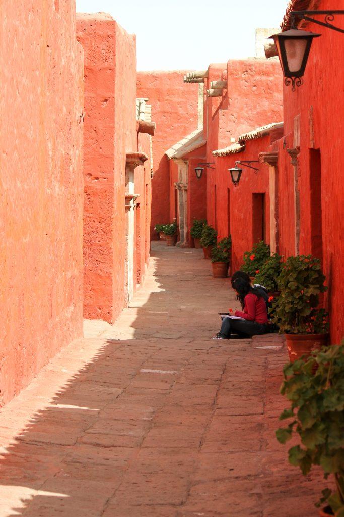 Catalina de Siena Monastery, Arequipa, Peru, South America