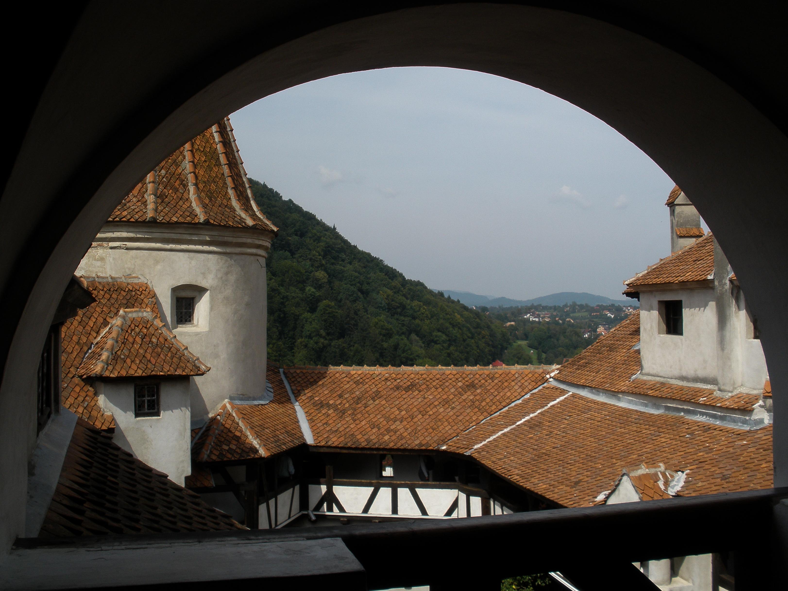 Bran Castle, Braşov, Romania, Europe