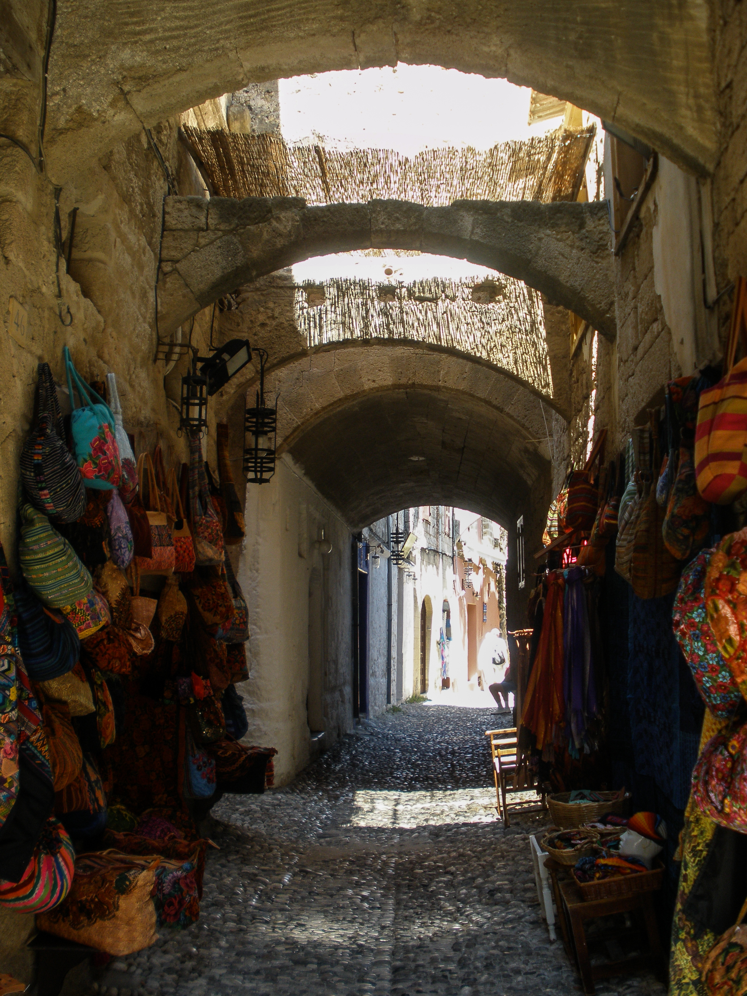 Old Town, Rhodes, Greece, Europe