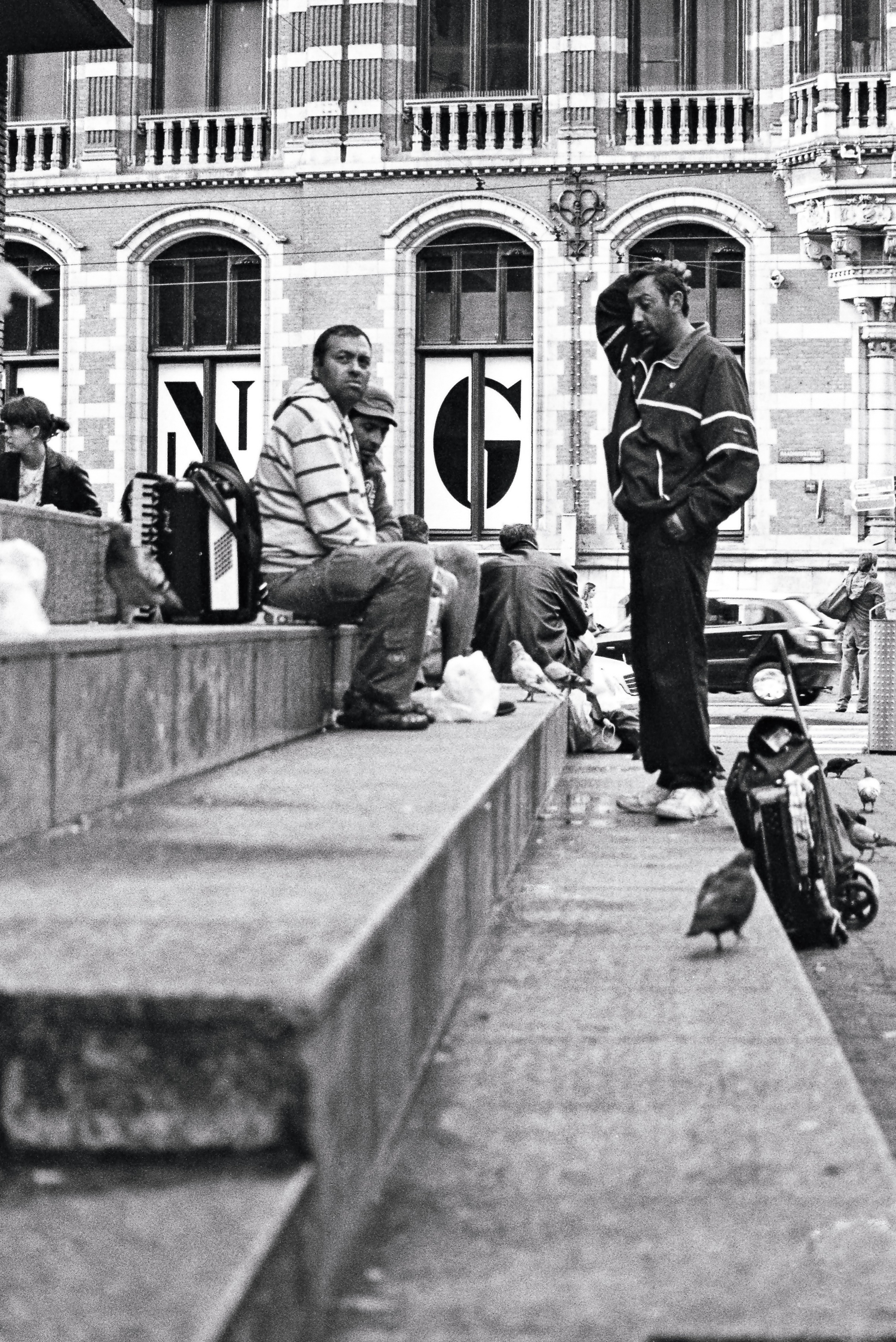 Musician, Amsterdam, Netherlands, Europe