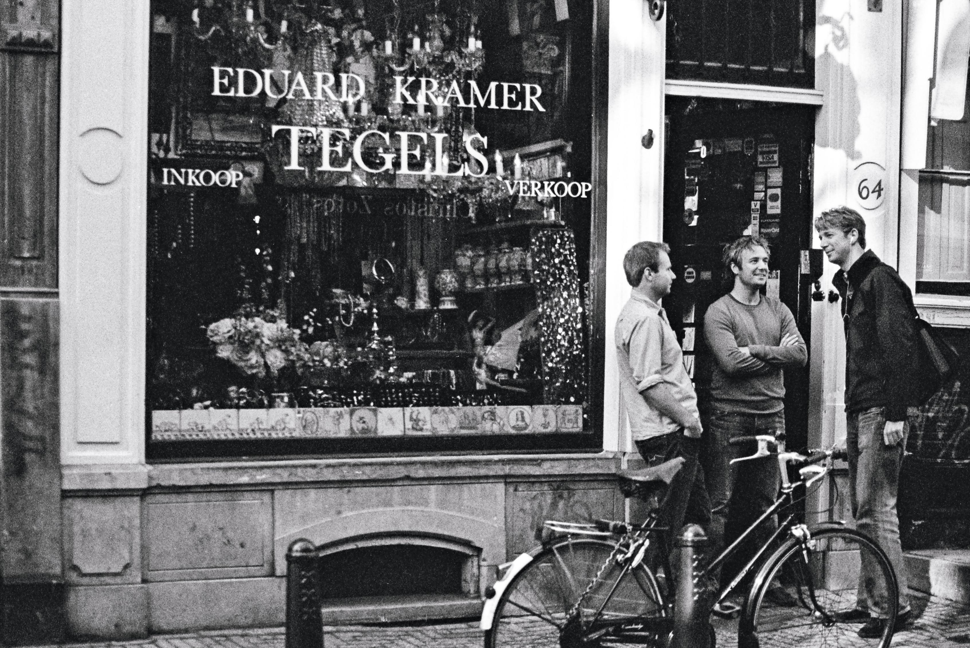 Nieuwe Spiegelstraat, Amsterdam, Netherlands, Europe